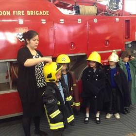 Yr 1 & 2 – Trip to the Fire Brigade Museum